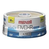 Maxell - DVD-R x 25 - 4.7 GB - storage media