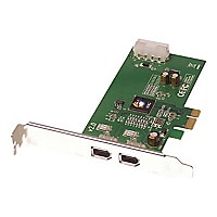 SIIG FireWire 2-Port PCIe - FireWire adapter