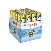 Maxell Gold LR03 batterie - 20 x type AAA - Alcaline