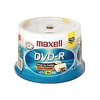 Maxell - DVD-R x 50 - 4.7 Go - support de stockage