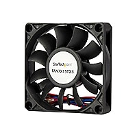 StarTech.com 70x15mm Replacement Ball Bearing Computer Case Fan w/ TX3 Conn