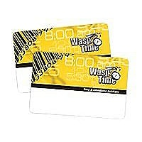Wasp WaspTime Employee Time Cards Seq 51-100 - barcode card