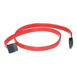 C2G 180° TO 90° - SATA cable - 1.5 ft