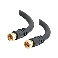 C2G Value Series 100ft Value Series F-Type RG6 Coaxial Video Cable - RF cab