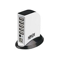 Tripp Lite 7-Port USB 2.0 U / USB 1,1 Compact Mobile Hi-Speed Hub Tower