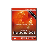 Microsoft SharePoint 2003 Unleashed, Second Edition