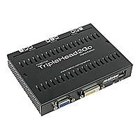 Matrox Graphics eXpansion Module TripleHead2Go - Digital Edition - video co