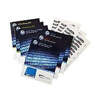 HPE Ultrium 4 RW Bar Code Label Pack - barcode labels