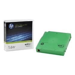 HPE RW Data Cartridge - LTO Ultrium 4 x 1 - 800 GB - storage media