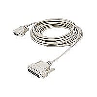 C2G null modem cable - 1.8 m - white