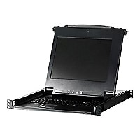 "ATEN Technology 17"" LCD KVM Console, 1u Rack Mountable"