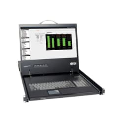 "Tripp Lite KVM Rack Console w/ 19"" LCD in 1URM Steel Drawer EXCLUSIVE PRICE"