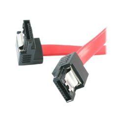 StarTech.com 12in Latching SATA to Right Angle SATA Serial ATA Cable - SATA