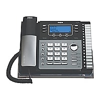 RCA 4-Line Expandable System Phone with Call Waiting/Caller ID