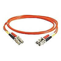 C2G 3m LC-LC 62,5/125 Duplex Multimode OM1 Fiber Cable - Orange - 10ft - pa
