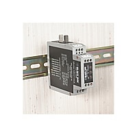 Black Box DIN Rail RS-232/RS-485 <-> Fiber Driver - short-haul modem