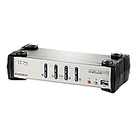ATEN CS1734B - KVM / audio / USB switch - 4 ports