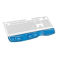 Fellowes® Keyboard Palm Support with Microban® - Blue Gel