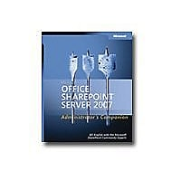 Microsoft Office SharePoint Server 2007 - Administrator's Companion - refer