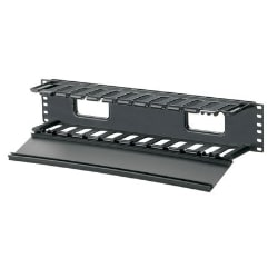 Panduit PatchLink Horizontal Cable Manager - cable management panel - 2U -