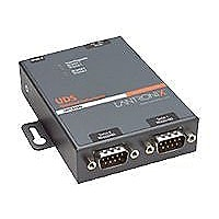 Lantronix 2Port RS232/422/485 Serial to IP/Ethernet Device Server - Int'l