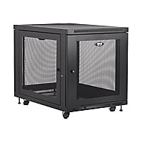 Tripp Lite 12U Rack Enclosure Server Cabinet Doors & Sides 300lb Capacity r