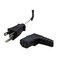 StarTech.com 6 ft Standard Computer Power Cord -5-15P to Right Angle C13 -