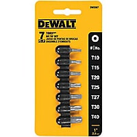 Dewalt 7-Piece Torx Bit Set