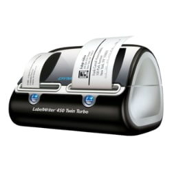 Dymo LabelWriter 450 Twin Turbo Monochrome Direct Thermal Label Printer