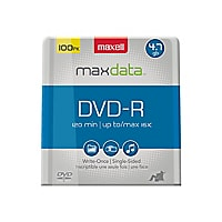 Maxell - DVD-R x 100 - 4.7 Go - support de stockage