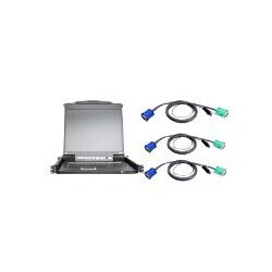 "ATEN 16 Port 17"" LCD KVM Console Kit, includes all required USB Cables"