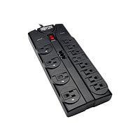 Tripp Lite Surge Protector Power Strip 12 Outlets 8ft Cord Tel/Modem 2160J