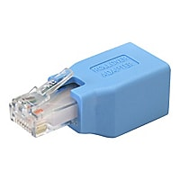 StarTech.com Cisco Console Rollover Adapter for RJ45 Ethernet Cable - netwo