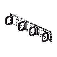 Panduit Open-Access Horizontal Cable Manager - cable management panel - 2U