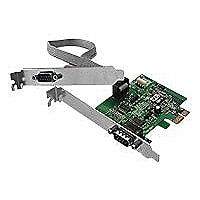 SIIG CyberSerial Dual PCIe-Dual Bracket - adaptateur série - 2 ports