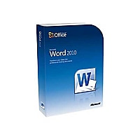 Microsoft Word 2010 - license - 1 PC