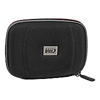 WD Black/ Red Hard Case For My Passport WDBABJ0000NBK - storage drive carry