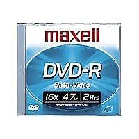 Maxell - DVD-R x 10 - 4.7 Go - support de stockage