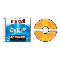 Maxell - DVD-R x 1 - 4.7 Go - support de stockage