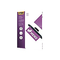 Fellowes Laminating Pouches Menu - 50-pack - clear - 292.1 x 444.5 mm - glo