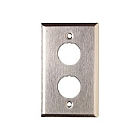 Siemon Industrial MAX Stainless Steel Faceplates - faceplate