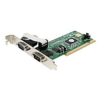 StarTech.com 2 Port PCI RS232 Serial Adapter Cards