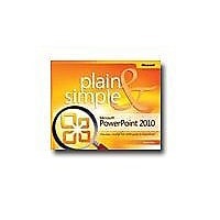 Microsoft PowerPoint 2010 - Plain & Simple - reference book