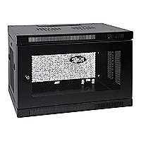 Tripp Lite 9U Wall Mount Rack Enclosure Server Cabinet w/ Door & Side Panel