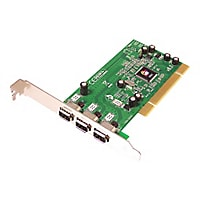 SIIG 1394 3-Port PCI - FireWire adapter