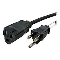 StarTech.com 6ft 14 AWG Power Cord Extension - NEMA 5-15R to NEMA 5-15P