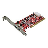 Addonics 2-Port USB 3.0 PCI Controller - USB adapter