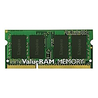 Kingston ValueRAM - DDR3 - 8 GB - SO-DIMM 204-pin - unbuffered