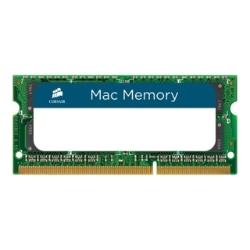 CORSAIR Mac Memory - DDR3 - 16 GB: 2 x 8 GB - SO-DIMM 204-pin - unbuffered