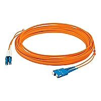 Proline 1M FIBER OPTIC Multi-Mode fiber (MMF) Duplex LC/SC M/M Patch Cable